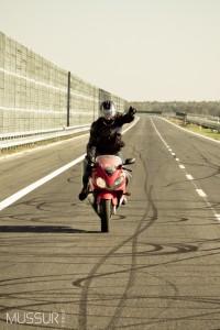 Honda CBR F4i & Камила