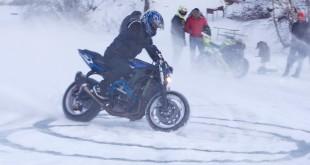 Stunt Yamaha R6 Ice Tornado
